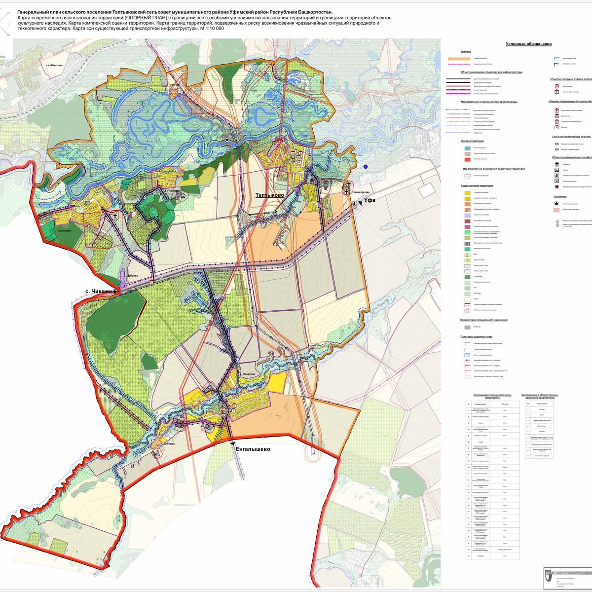 Схема развития республики башкортостан